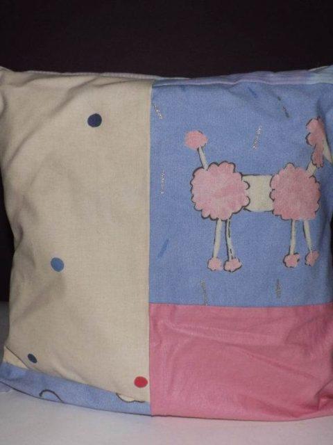 Doodle Poodle Cushion