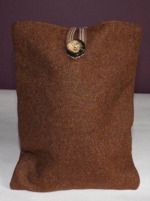 Dark Brown Kindle Cover