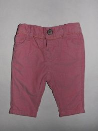 Next - Pink Cotton Jeans (0-3 Months)