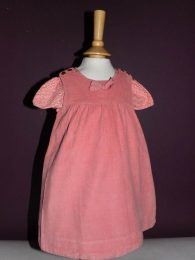 Cocoon -  2-Piece: Pink Dress and Shirt (12 Months)