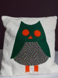 Personalised Owl Cushion